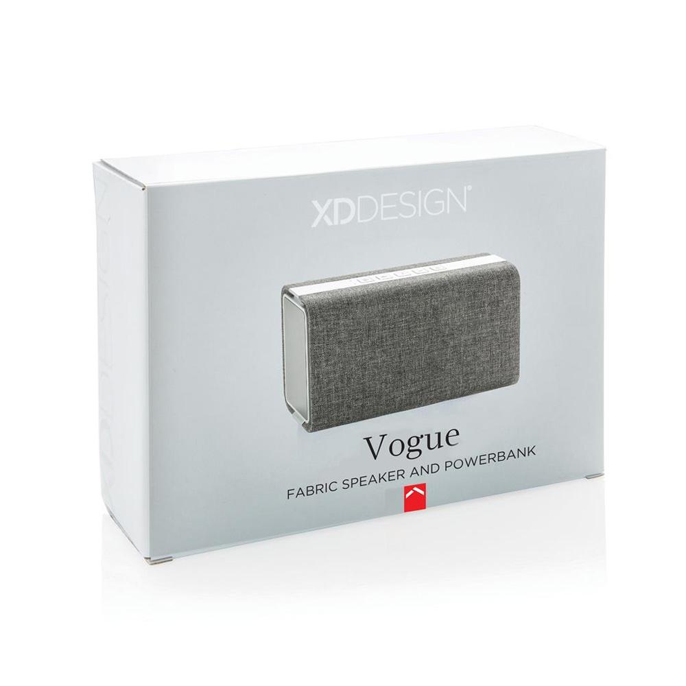 Vogue højtaler m. powerbank