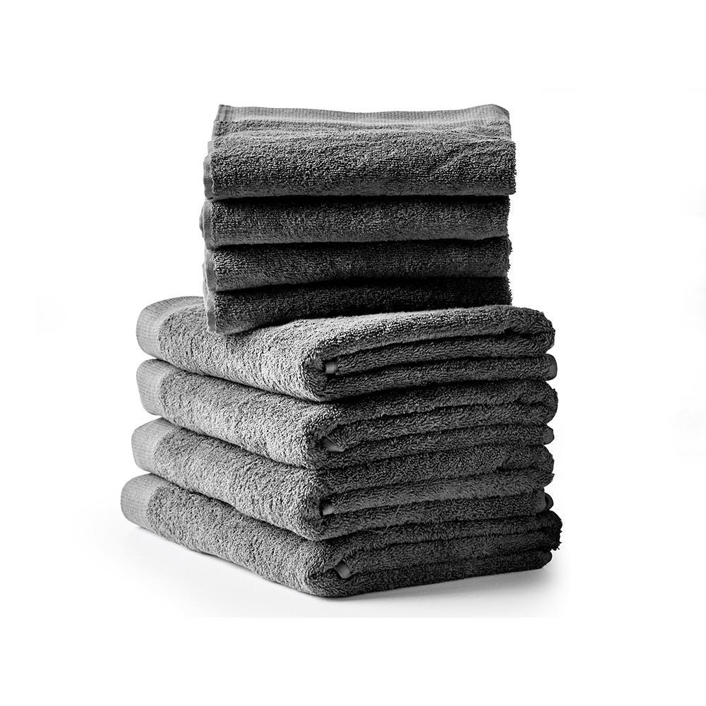 Comfort håndklæder, grå