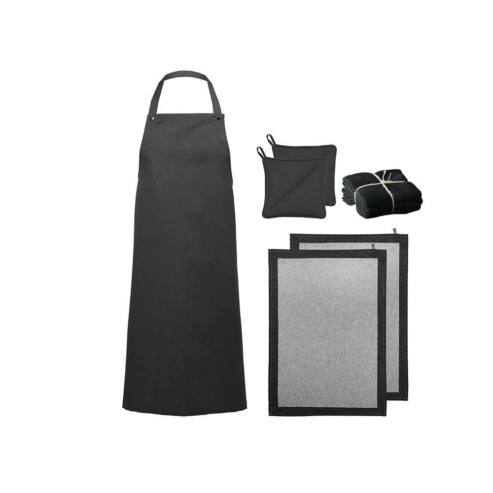 Køkkentekstiler, 8 dele