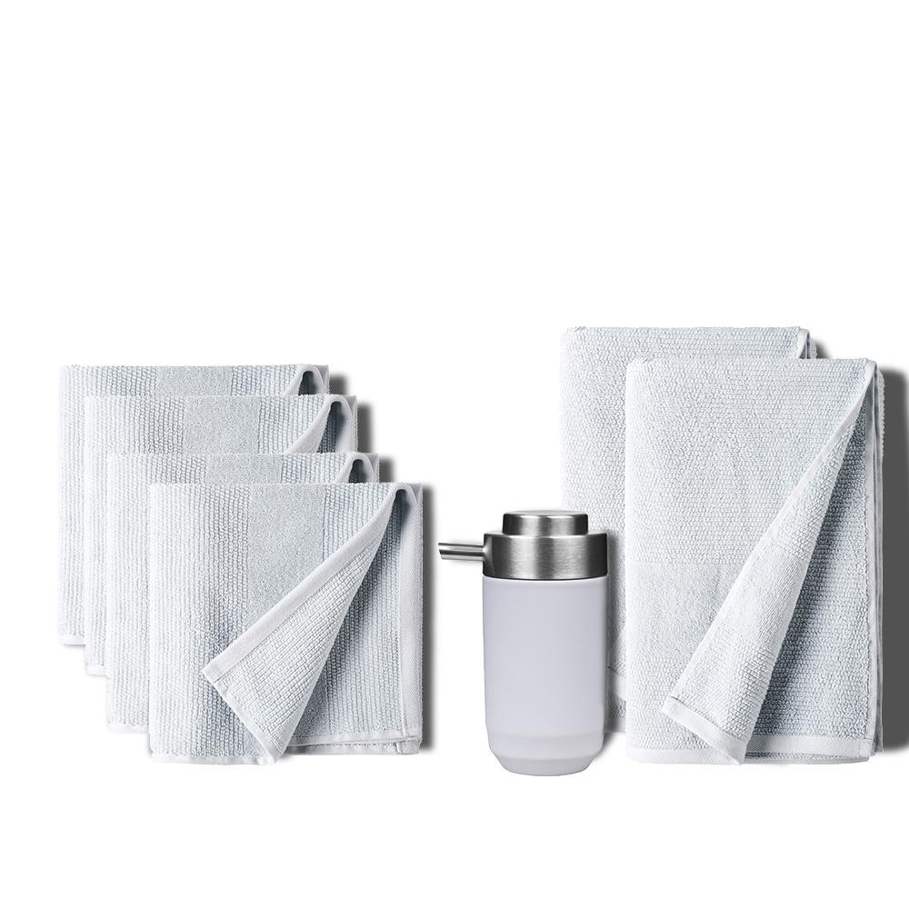 Håndklædepakke, Fragment