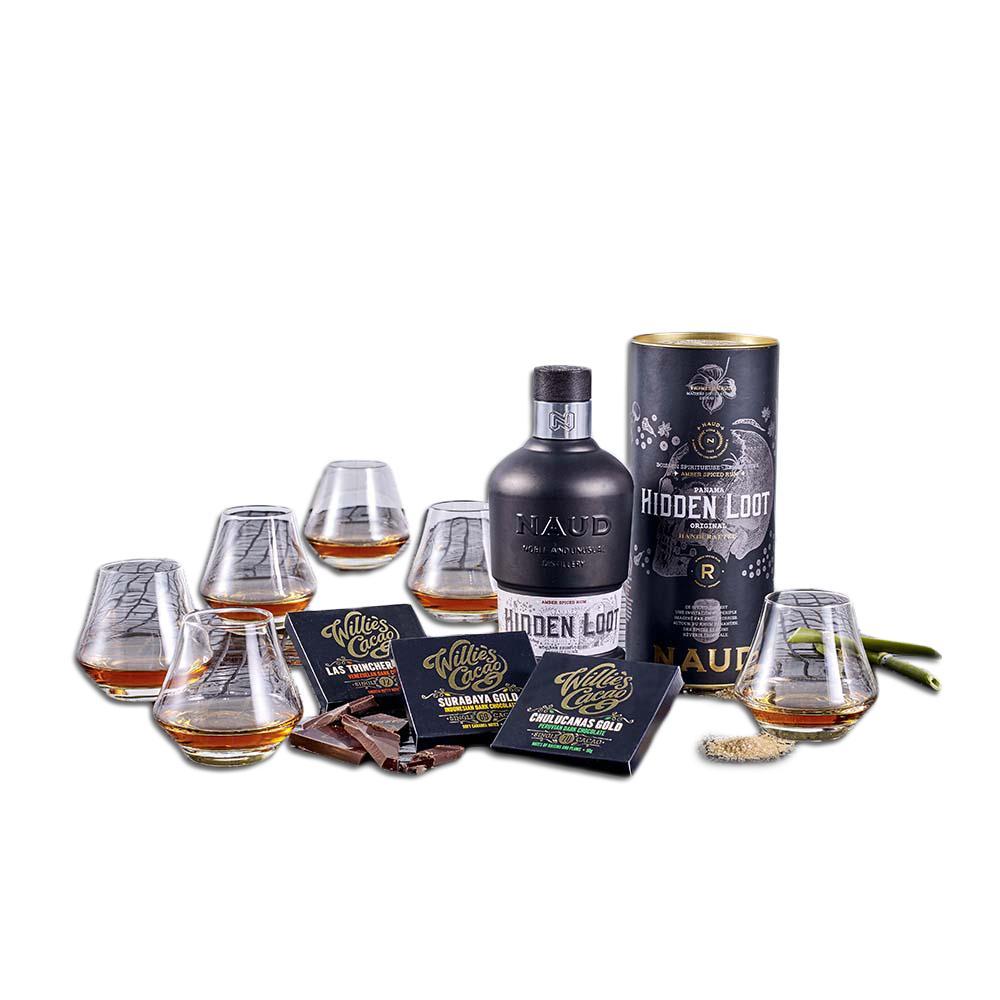 Spiced Rom & Glas