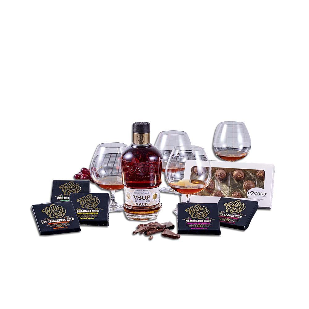VSOP Cognac & Glas