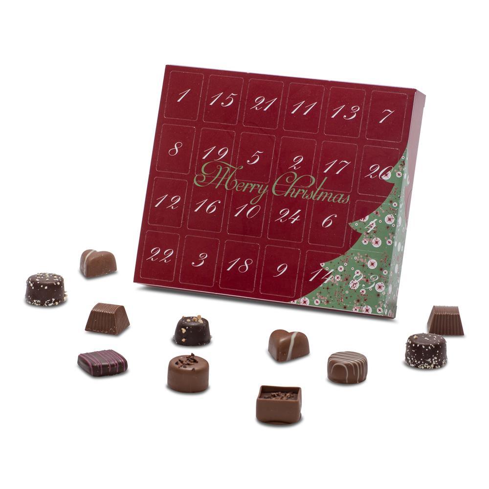 Julekalender m. dessertchokolader