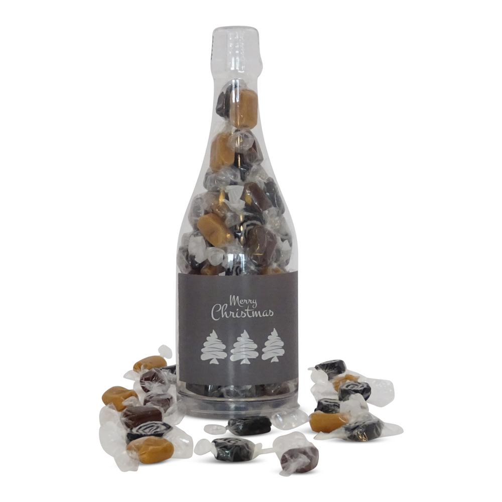 Karamelblanding i flaske