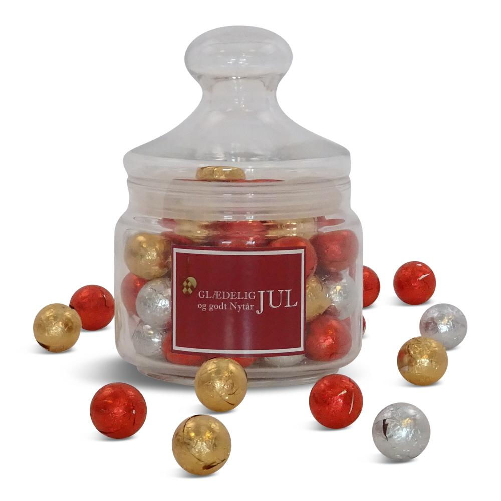 Apotekerglas, chokokuglemix 1