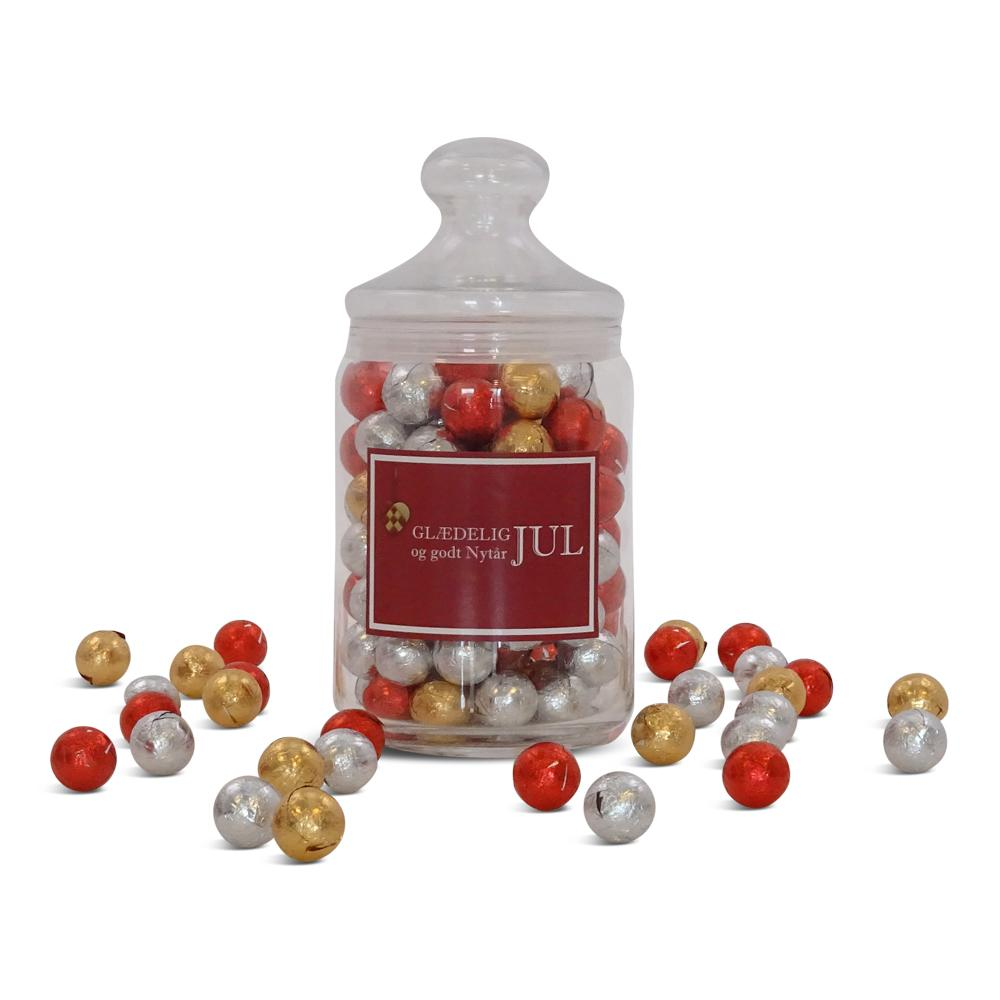 Apotekerglas, chokokuglemix 3
