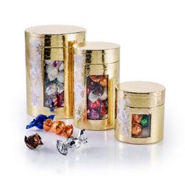 Guld - 1000 g. Chokoladekugler