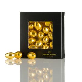 Chokolademandler, med sølv/vintage guld