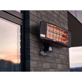 Terrassevarmer til væg